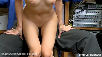 Jasmine Grey was being a very naughty girl and deserved a good fuck to learn her lesson